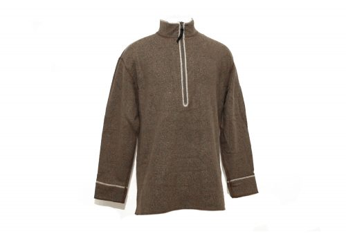 Hot Chillys Barrio Zip Top - Mens - driftwood putty, small