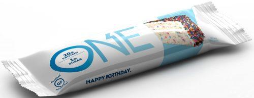 ISS Oh Yeah! ONE Bar - 1 Bar Birthday Cake