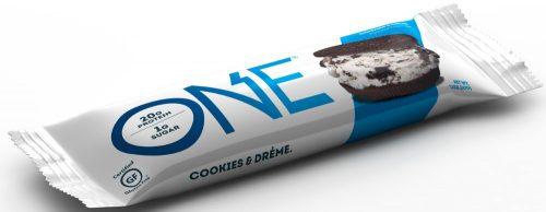 ISS Oh Yeah! ONE Bar - 1 Bar Cookies & Cream