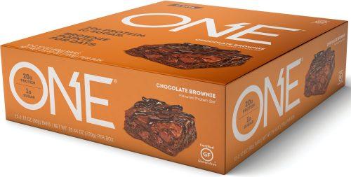 ISS Oh Yeah! ONE Bar - Box of 12 Chocolate Brownie