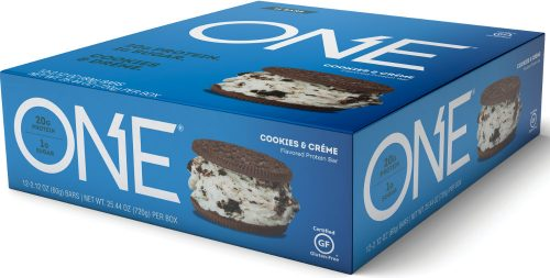 ISS Oh Yeah! ONE Bar - Box of 12 Cookies & Creme