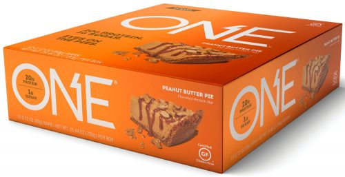 ISS Oh Yeah! ONE Bar - Box of 12 Peanut Butter Pie