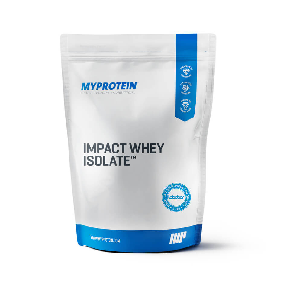 Impact Whey Isolate - Cookies and Cream, 2.2lbs (USA)