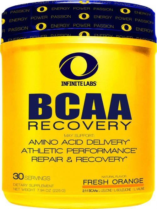 Infinite Labs BCAA Recovery - 30 Servings Fresh Orange