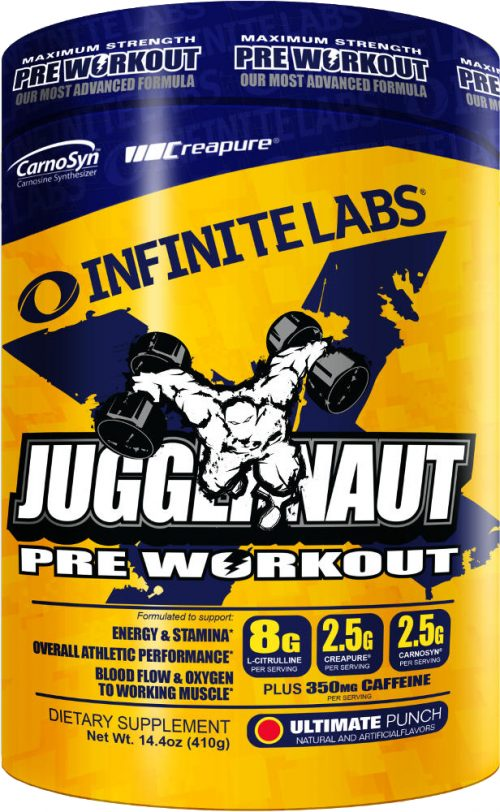 Infinite Labs Juggernaut X - 21 Servings Ultimate Punch