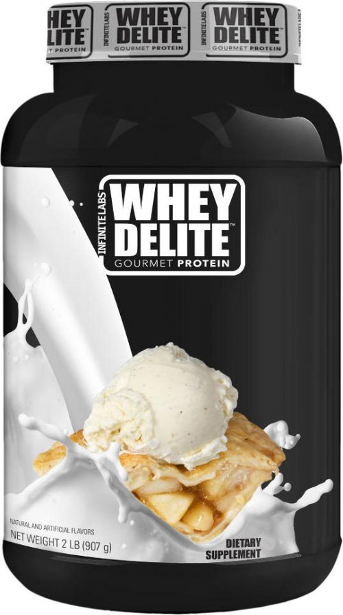 Infinite Labs Whey Delite - 2lbs Apple Pie