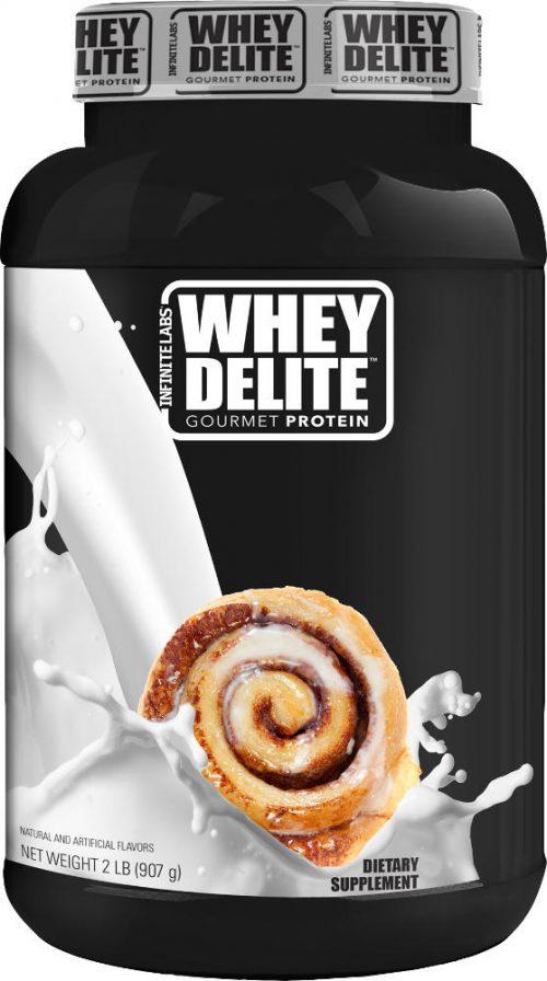 Infinite Labs Whey Delite - 2lbs Cinnamon Bun