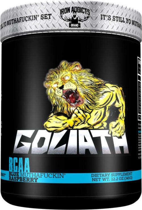 Iron Addicts Goliath - 30 Servings Blue Muthaf*ckin Raspberry