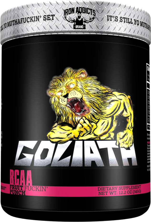 Iron Addicts Goliath - 30 Servings Fruit F*ckin Punch