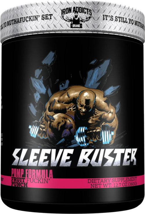 Iron Addicts Sleeve Buster - 30 Servings Fruit F*ckin Punch