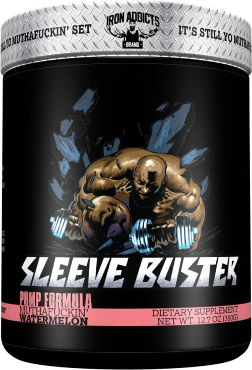 Iron Addicts Sleeve Buster - 30 Servings Muthaf*ckin Watermelon