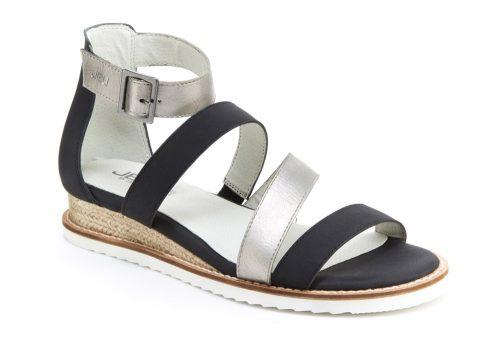 JBU Riviera Sandals - Women's - gunmetal/black, 9