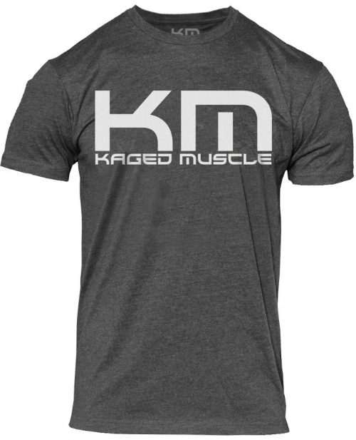 """Kaged Muscle """"Evolve"""" T-Shirt - Grey Small"""