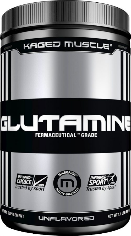 Kaged Muscle Glutamine - 500g Unflavored
