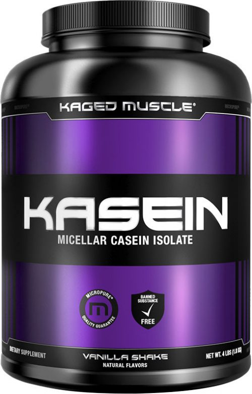 Kaged Muscle Kasein - 4lbs Vanilla Shake