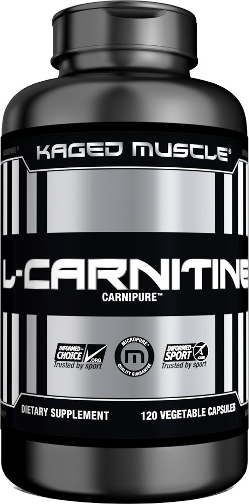 Kaged Muscle L-Carnitine - 120 VCapsules