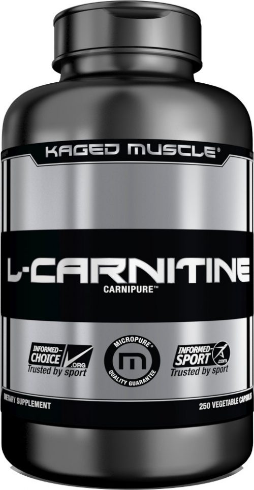 Kaged Muscle L-Carnitine - 250 VCapsules