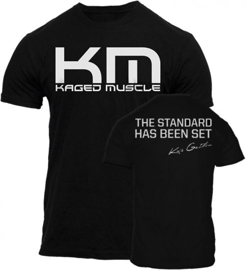 "Kaged Muscle ""The Standard"" T-Shirt - Black Medium"