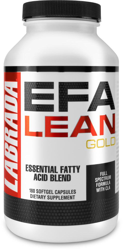 Labrada Nutrition EFA Lean Gold - 180 Softgel Capsules