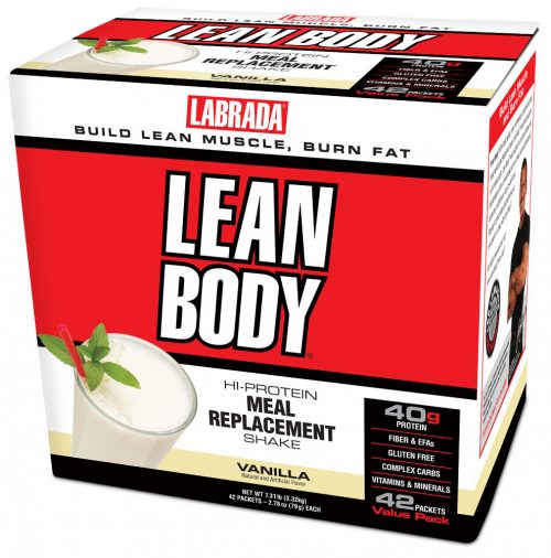 Labrada Nutrition Lean Body Meal Replacement - 42 Packets Vanilla