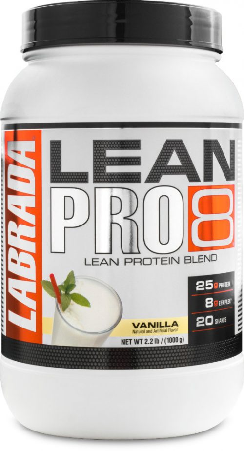 Labrada Nutrition Lean Pro8 - 2.2lbs Vanilla