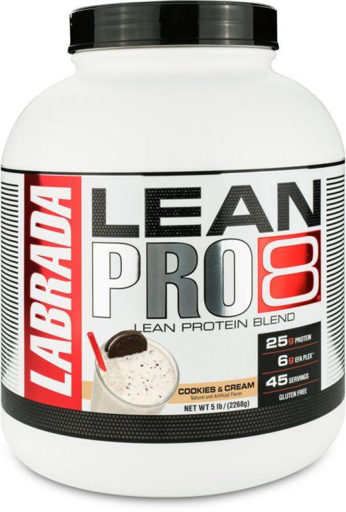 Labrada Nutrition Lean Pro8 - 5lb Cookies & Cream