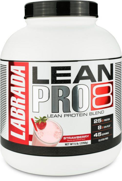 Labrada Nutrition Lean Pro8 - 5lb Strawberry