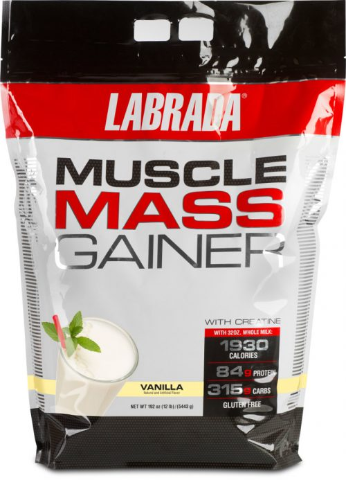 Labrada Nutrition Muscle Mass Gainer - 12lbs Vanilla
