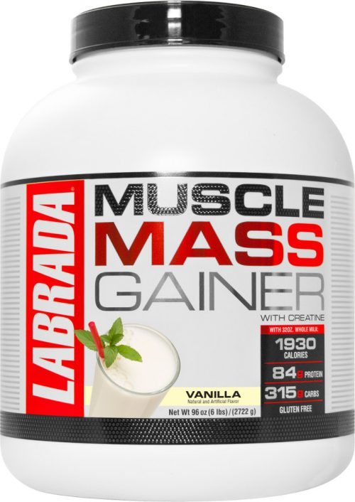 Labrada Nutrition Muscle Mass Gainer - 6lbs Vanilla