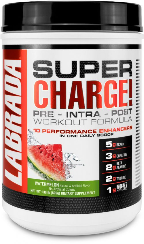 Labrada Nutrition Super Charge - 25 Servings Watermelon