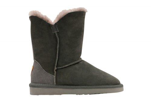 Lamo Liberty Sheepskin Boots - Women's - charcoal, 5