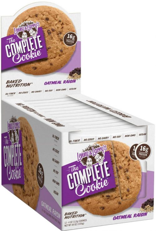 Lenny & Larry's Complete Cookie - 12 4oz Cookies Oatmeal Raisin