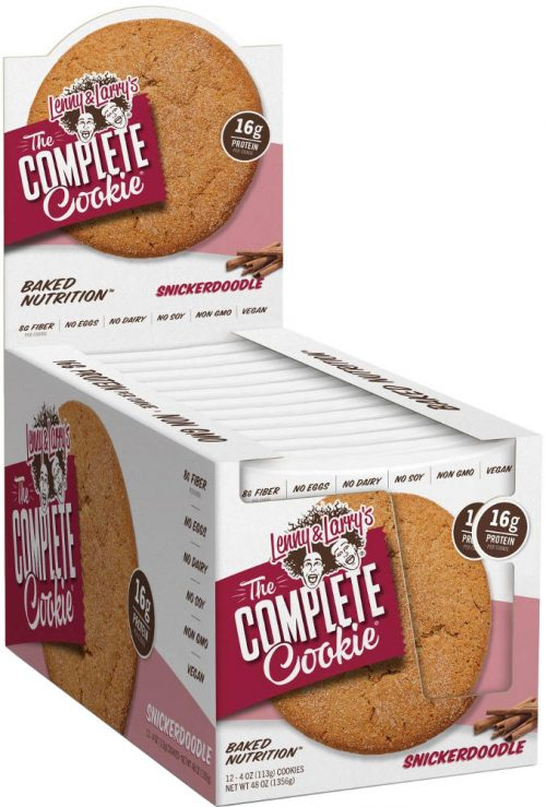 Lenny & Larry's Complete Cookie - 12 4oz Cookies Snickerdoodle