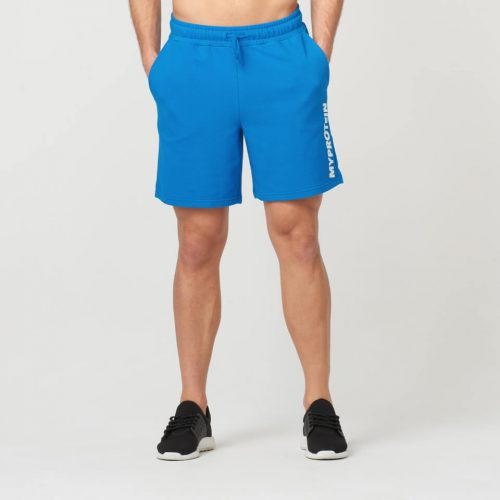 Logo Shorts - Blue - S