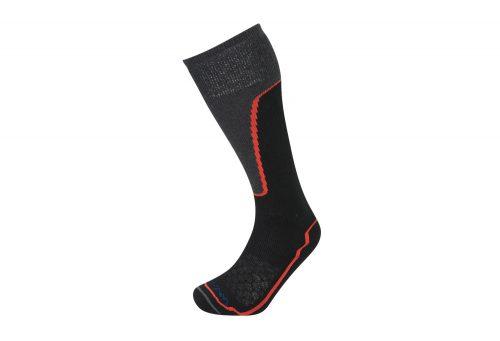 Lorpen T2 Ski Midweight Socks - black, medium