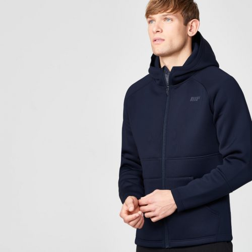 Luxe Classic Sports Jacket - Navy Blue - S