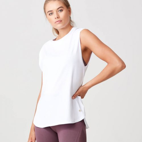 Luxe Touch Vest - White - M
