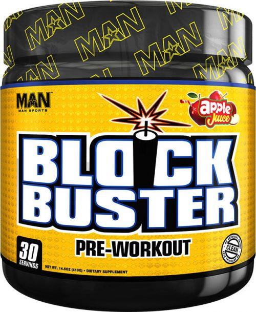 MAN Sports Blockbuster - 30 Servings Apple Juice