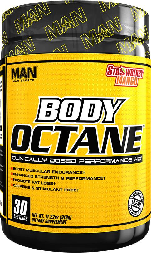MAN Sports Body Octane - 30 Servings Strawberry Mango