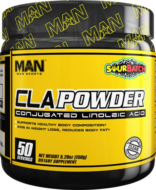 MAN Sports CLA Powder - 50 Servings Sour Batch