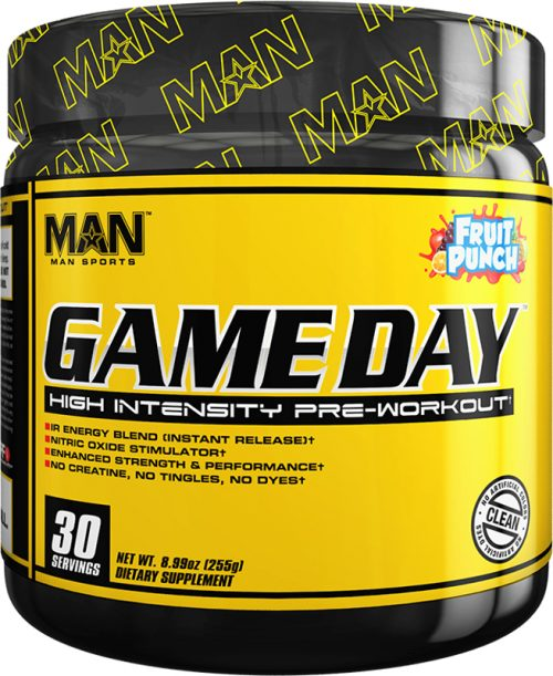MAN Sports Game Day - 30 Servings Fruit Punch