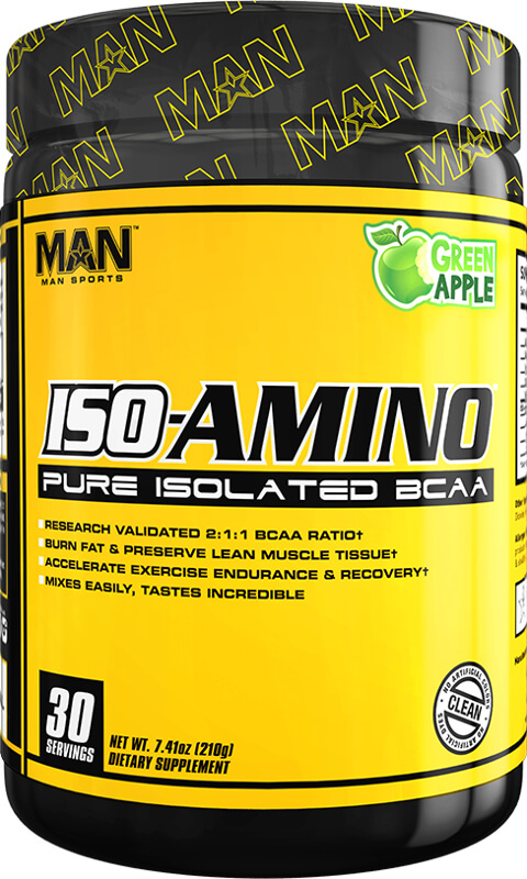 MAN Sports ISO-Amino - 30 Servings Green Apple