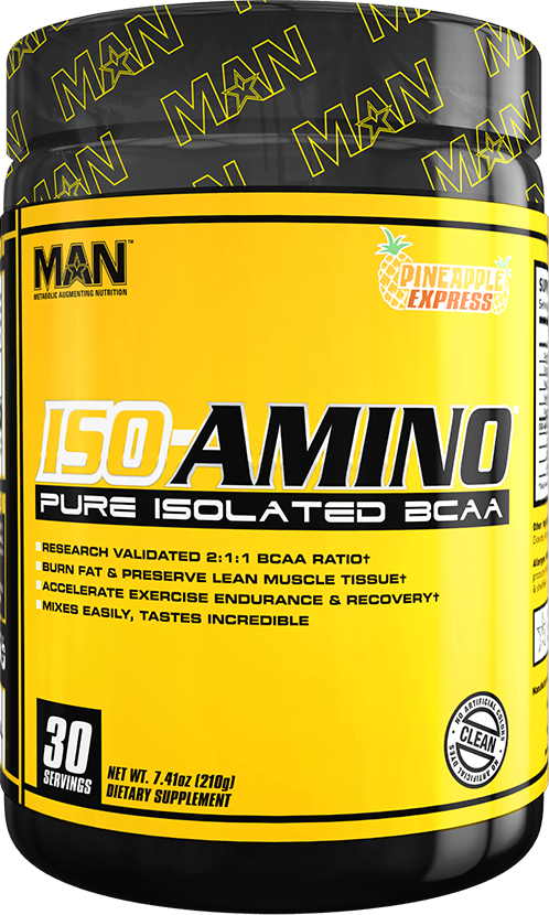 MAN Sports ISO-Amino - 30 Servings Pineapple Express