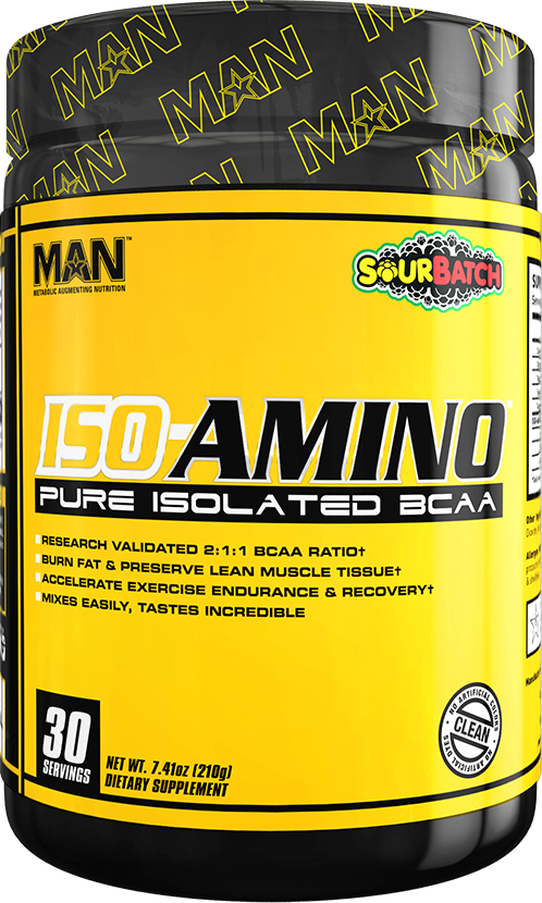 MAN Sports ISO-Amino - 30 Servings Sour Batch
