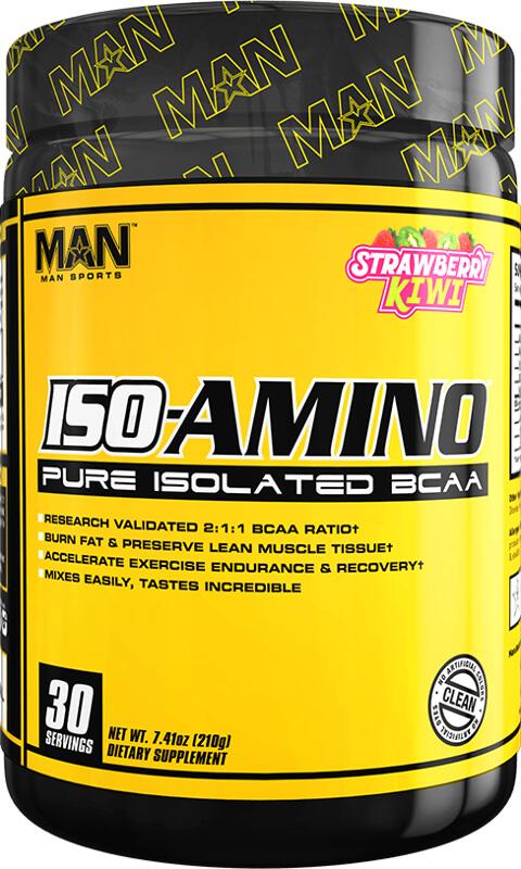 MAN Sports ISO-Amino - 30 Servings Strawberry Kiwi
