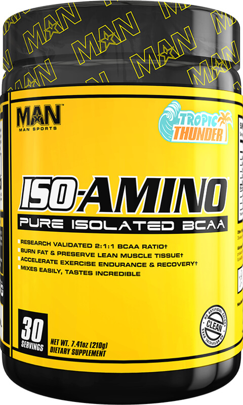 MAN Sports ISO-Amino - 30 Servings Tropic Thunder