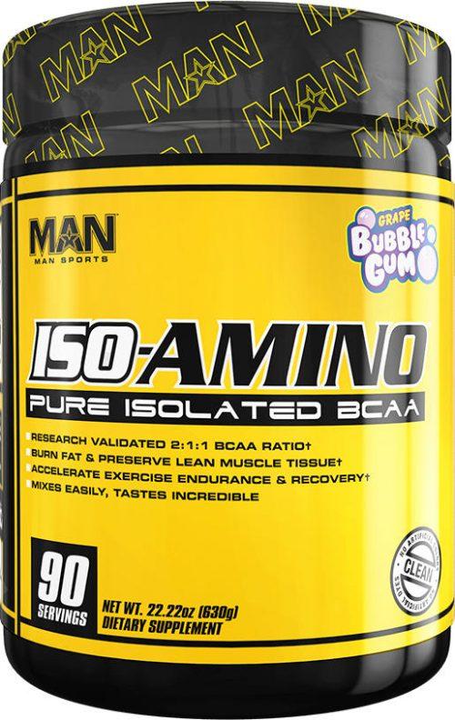 MAN Sports ISO-Amino - 90 Servings Grape Bubblegum