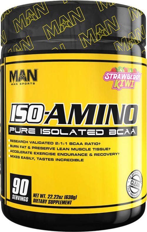 MAN Sports ISO-Amino - 90 Servings Strawberry Kiwi