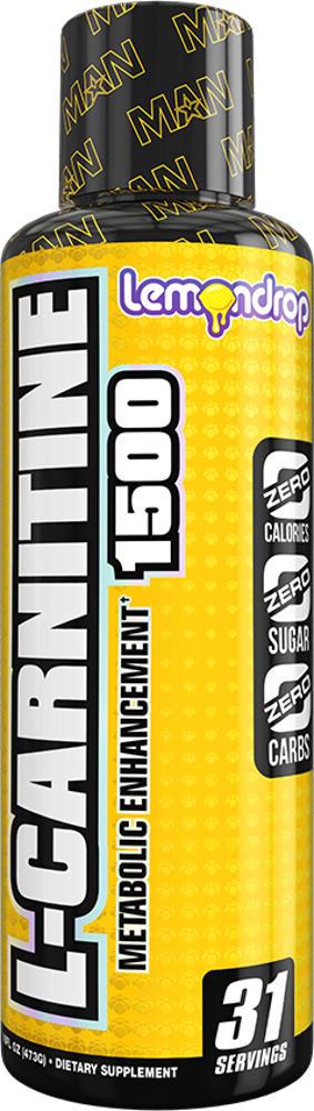 MAN Sports L-Carnitine 1500 - 31 Servings Lemon Drop