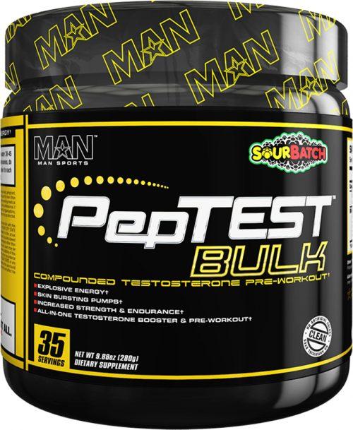 MAN Sports PepTest Bulk - 35 Servings Sour Batch